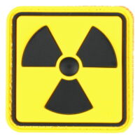 Paintball / Airsoft PVC Klettpatch (Radioactive - Color)