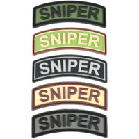 Paintball / Airsoft PVC Klettpatch (Sniper Tab)
