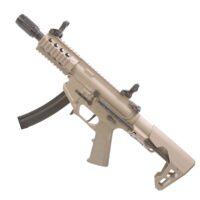 King Arms AG-229 SAEG Airsoft Maschinenpistole TAN