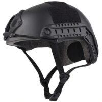 DELTA SIX FAST Tactical Helm für Paintball / Airsoft (schwarz)