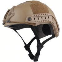 DELTA SIX FAST Tactical Helm für Paintball / Airsoft (Desert / Tan)
