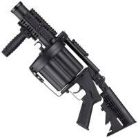 ICS M203 Paintball Trommel-Granatwerfer 40mm