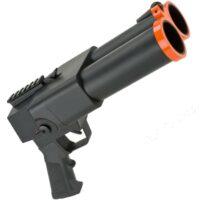 RAP4 Doppelläufige Granatpistole für 40mm Granaten (schwarz)