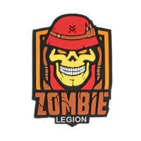 Paintball / Airsoft PVC Klettpatch (Zombie Legion