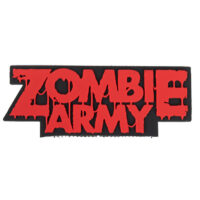 Paintball / Airsoft PVC Klettpatch (Zombie Army