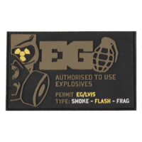 Enolagaye Klett-Patch (Authorised To Use Explosives)