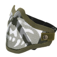 Paintball / Airsoft Face Mask C.O.D. Style (GHOST / oliv)