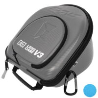Exalt Carbon V3 Lens Case / Maskenglas Box Limited Edition (grau/blau)