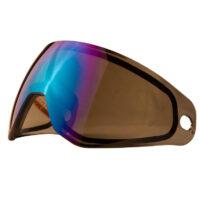 HK Army KLR / SLR Thermal Paintball Maskenglas (Cobalt Blue Mirror)