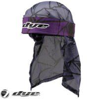 Dye Paintball Head Wrap (Infused - Purple/Black/Grey)