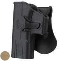 Amomax Paddleholster für Glock 19/23/32 Modelle LINKSHAND
