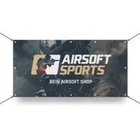 Airsoft Sports Werbebanner 130x70cm (Operator)