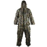 DELTA SIX 3D Ghilie Suit / Scharfschützen Tarnanzug (Universalgröße) - Realtree Camo
