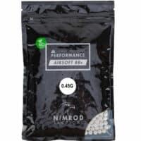 Nimrod Airsoft BIO BB´s 0,45g im Zipper Beutel