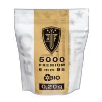 Elite Force BIO Airsoft BB´s Im Zipper Beutel (5000stk) 0,20g