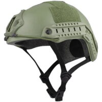 DELTA SIX FAST Tactical Helm für Paintball / Airsoft (oliv)