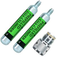 88g Co2 Starter Kit (2x 88g Co2 Kaspel + Adapter)