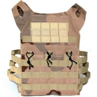 ACM Jumper Tactical / Plate Carrier Molle Weste (Desert Camo)