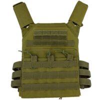 ACM Jumper Tactical / Plate Carrier Molle Weste (oliv)
