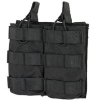 DELTA SIX M16 / M4 / AR-15 XL Magazintasche für Molle System (2er) - schwarz