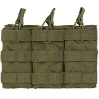DELTA SIX M16 / M4 / AR-15 XL Magazintasche für Molle System (3er) - oliv