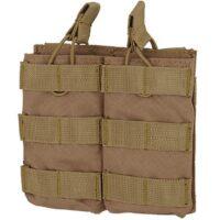DELTA SIX M16 / M4 / AR-15 XL Magazintasche für Molle System (2er) - desert / tan
