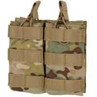 DELTA SIX M16 / M4 / AR-15 XL Magazintasche für Molle System (2er) - Multicamo