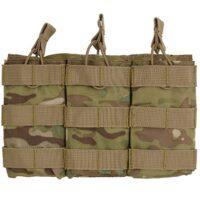 DELTA SIX M16 / M4 / AR-15 XL Magazintasche für Molle System (3er) - Multicamo