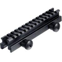 20mm Weaverschiene / Weaverrail Visier Erhöhung (12,5cm)