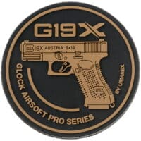 Paintball / Airsoft Klettpatch (Glock 19X)