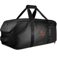 Carbon 38L Collapsible Duffle Bag / Rucksack (schwarz)
