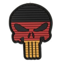 Paintball / Airsoft PVC Klettpatch (Skull Germany)