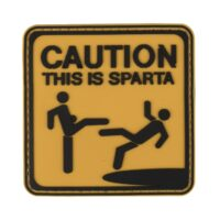 Paintball / Airsoft PVC Klettpatch (This is Sparta)
