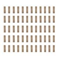 Index Camo Clips für 20mm Weaverrail (60er Packung) - TAN