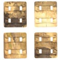 Camo Weaverrail Cover 4er Pack (Multicamo)