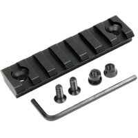 20mm Keymod Weaverrail / Weaverschiene (75mm / 7 Slots)