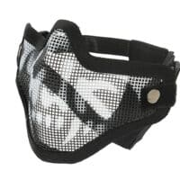 Paintball / Airsoft Face Mask C.O.D. Style (GHOST / schwarz)