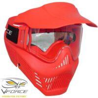 V-Force Armor Rental Paintballl Maske (rot)