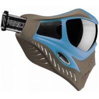 V-Force Grill Paintball Thermalmaske Ltd Edition (taupe/blau)
