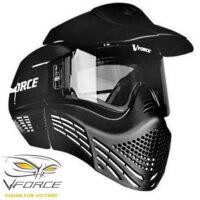 V-Force Armor Rental Paintball Maske, Singel Lens (schwarz)