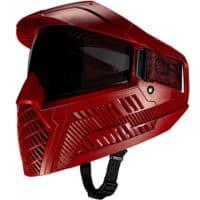 Carbon OPR Paintball Maske (Dunkel Rot)