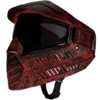 Carbon OPR Paintball Maske (Rot Camo)
