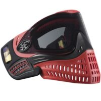 Empire E-Flex Paintball Maske Ltd Edition (schwarz/rot)