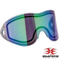 Empire Vents/E-Flex Paintball Thermal Maskenglas (Green Mirror)