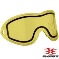 Empire Vents / E-Flex Paintball Thermal Maskenglas (gelb)