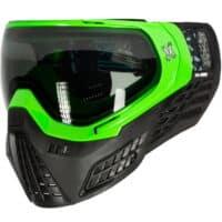 HK Army KLR Paintball Maske (Blackout - Neon Grün)
