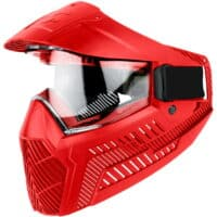 ProShar BASE Paintball Thermal Maske - rot
