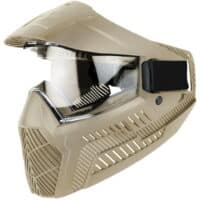 ProShar BASE Paintball Maske (single Lens) - TAN