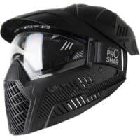 ProShar BASE FULL COVER Paintball Maske (single Lens) - schwarz