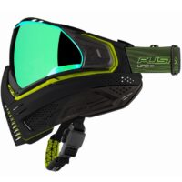 Push Unite Paintball Maske (schwarz / grün)